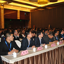 2012奥普集成灶代理商会议现场