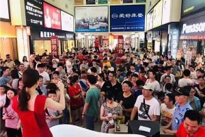德普凯信参加宁波家居狂欢节,现场有点猛!