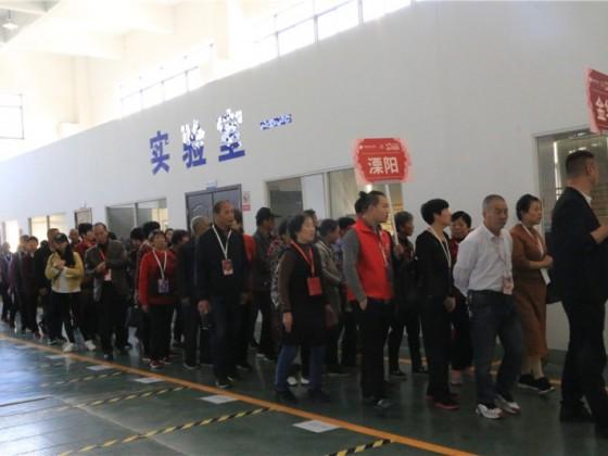 厨壹堂十年庆 参观工厂