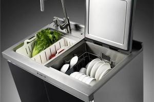 水槽 洗碗机 这是火星一号集成水槽洗碗机